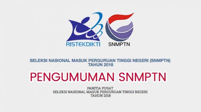 Prosedur Daftar Ulang Calon Mahasiswa Baru Jalur SNMPTN